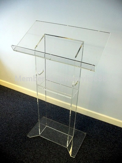Free Shipping Beautiful HoYodeMonterrey Price Reasonable Acrylic Podium Pulpit Lectern Podium