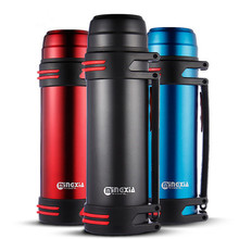 цена на Hot!! Stainless Steel Vacuum Flasks & Thermos 1L,2L Thermos Kettle Travel Coffee Mugs Thermal Vaccum Water Bottle Insulated Cup
