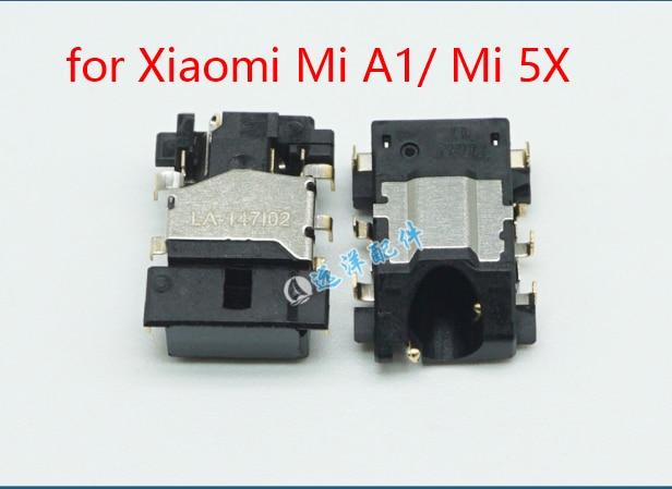 US $4 74 5% OFF|for Xiaomi Mi A1 Mi 5X Audio Earphone Jack Model Flex Cable  Headphone Jack Earpiece Replacement Repair Spare Parts-in Mobile Phone