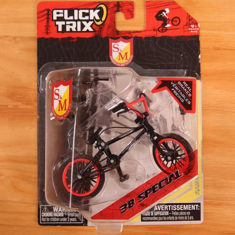 Mini Finger BMX Bicycle Flick Trix Finger Bikes Toys BMX Bicycle Model Bike Tech Deck Gadgets Novelty Gag Toys For Kids Gifts