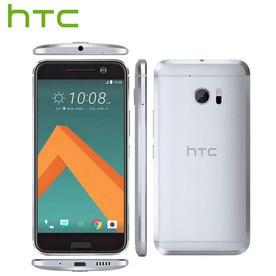 Original Nouveau HTC 10 mode de Vie LTE 4g Android Mobile Téléphone 5.2 3 gb RAM 32 gb/64 gb ROM Snapdragon 652 Octa Core 12MP Téléphone Intelligent
