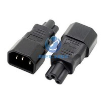 Consumer Electronics Accessories Adapter IEC 320 C14 to C5 Adapter C5 to C14 AC