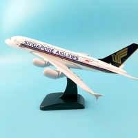 SINGAPORE AIRLINES A380 20 centimetri In Lega di Metallo Modello di Aereo Turchia B777 Aeromobili puleggia carrello di atterraggio Collezioni regali Artigianali Giocattoli