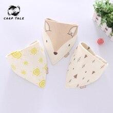 Cartoon baby bib apron adjustable snoring cloth feeding long sleeve accessories cute animal toddler child
