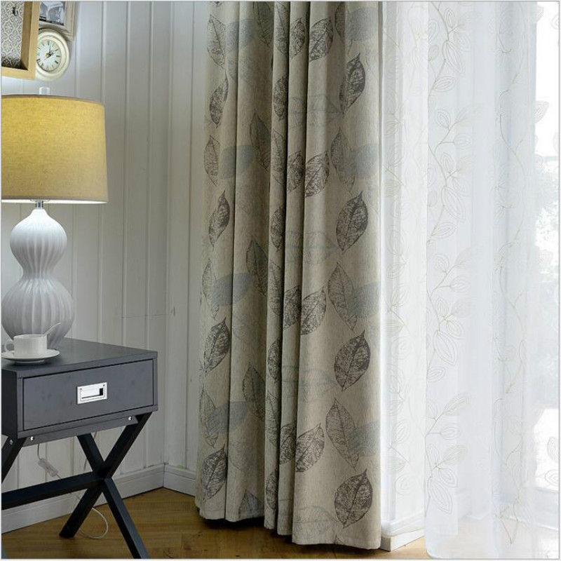 Luxury Simple Modern Chenille Jacquard Fabric Safe