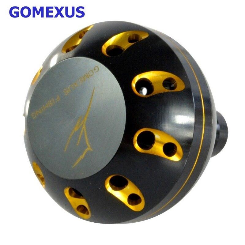 Gomexus Power Knob 41mm for Shimano Daiwa Penn Avet Accurate Newell Okuma Abu <font><b>Reel</b></font> Handle Free Shipping
