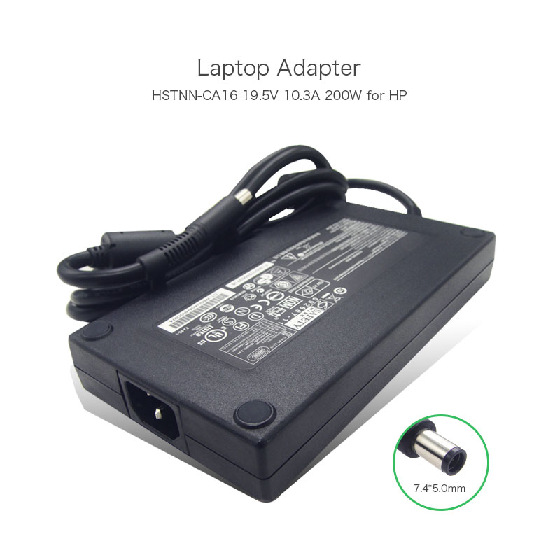 100% Original 19.5V 10.3A 200W Laptop Slim Power Charger for HP DC7800 DC7900 DC8000 ZBOOK 15 HSTNN-CA16 608431-001 AC Adapter