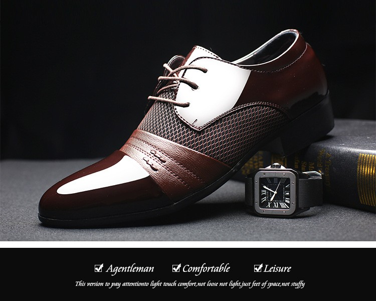 Shoes Luxury Brand Classic Oxford Men S Flats Shoes