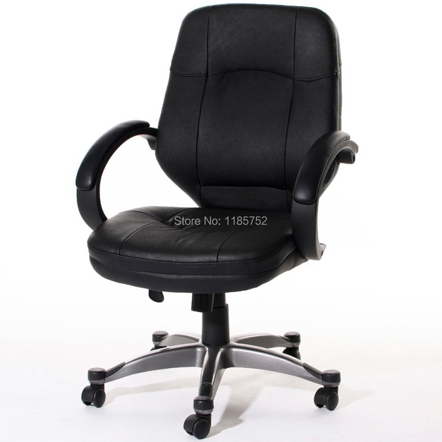 Groovy Us 149 99 Brand New Office Furniture School Furniture Black Bonded Leather Lift Chair Office Chair Computer Chair With Arms Swivel Chair In Office Evergreenethics Interior Chair Design Evergreenethicsorg
