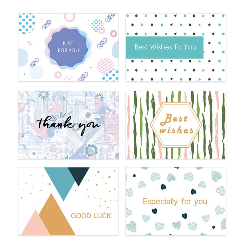6 teil/satz DIY Papier Leere Karte Gold Folie Buch Karten Geschenk Gruß Mutter der Tag Geschenk Karte Business Danke karte