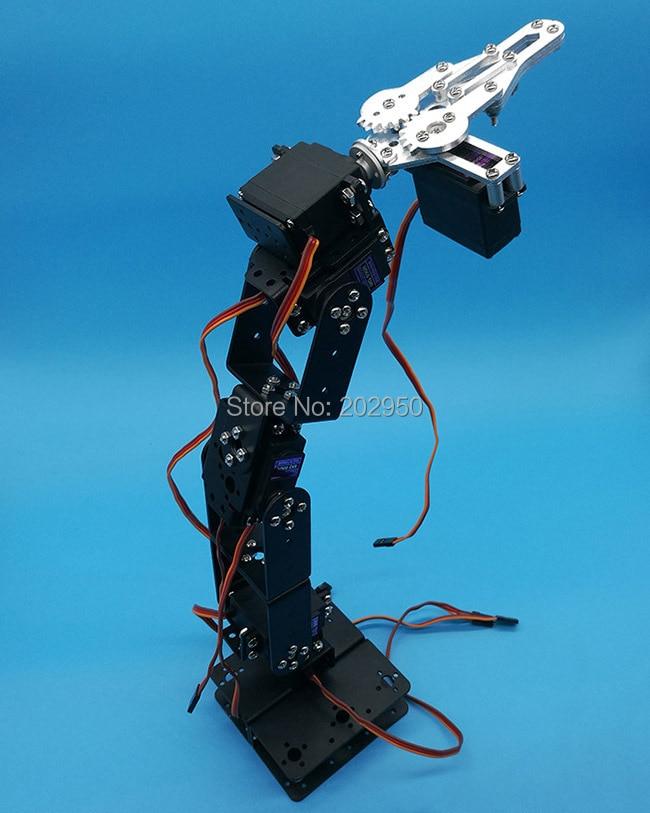 Robot-Arm-Kit Platform Arduino Metal Smart-Car Teaching 6-Dof Mechanical-Manipulator