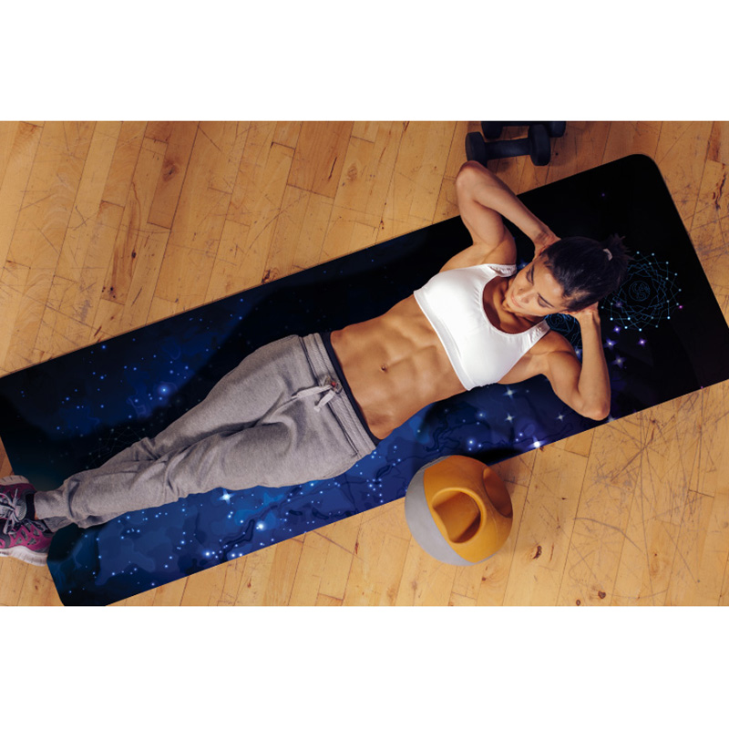 Natural Rubber+Suede 183cm*66cm*4mm Eco-Friendly Professional Fitness Mat Gym Mat Yoga Mat Pilates Mat more longer new style 183cm 68cm 5mm natural rubber non slip tapete yoga gym mat lose weight exercise mat fitness yoga mat