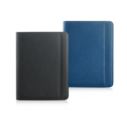 Business Multifuctional briefcase padfolio manager bag A4 file folder with a zipper folders with cellphone stand clip 1267D