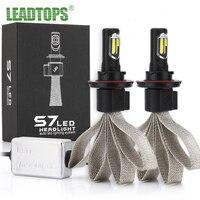 LED H4 H7 LED Headlights Bulb 6K 6000k 30W Bright White 9006 H8 H9 H11 H1