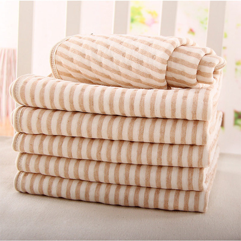 50*70CM Colored Cotton + Waterproof EVA Layer Baby Changing Mat  Waterproof Changing Urine Pad Bed Sheets For Newborn