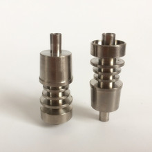 2019 popular titanium nail 14mm male for silicone pipe or glass domeless