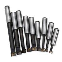 כלי מחרטה כלי דיוק 9PCS 12mm גבוהה Shank Boring בר סגסוגת קשה קרביד היטה Boring למעלה מחרטה חור כרסום מכונת כלי אביזרים (5)