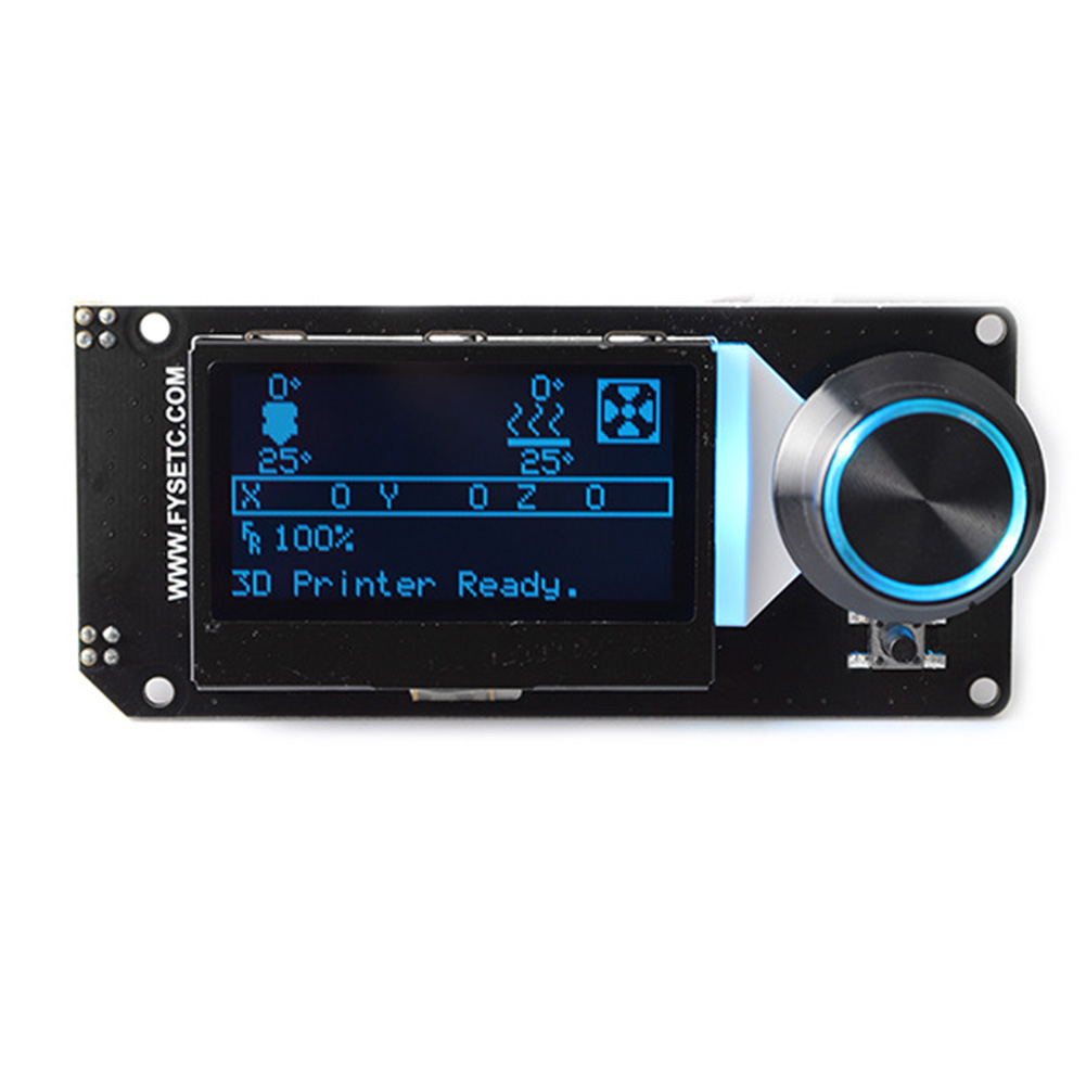 12864 With Card Slot Led Backlight Electronics Smart 3d Printer Accessories Replacement Professional Lcd Controller Parts Panel