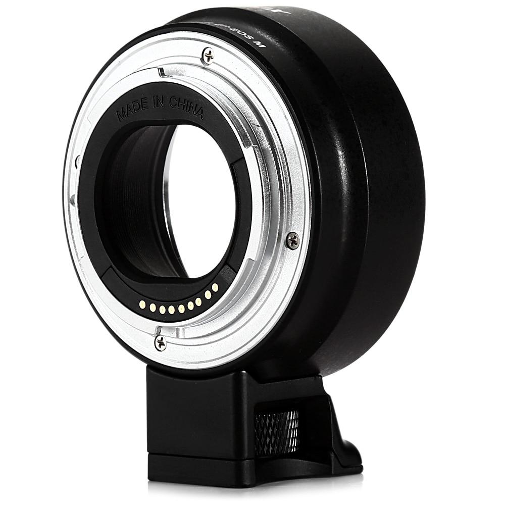 Viltrox EF-EOSM AF Auto Focus Monture Adaptateur Pour Canon EF-M Caméra À EOS M EF-M M2 M3 M5 M6 M10