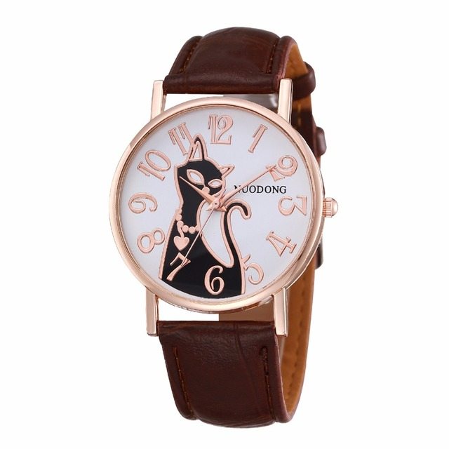 Women's Cat Themed Casual Watches