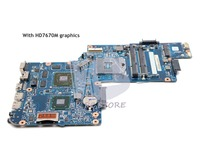 NOKOTION NEW H000038410 MAIN BOARD For Toshiba Satellite L850 C850 C855 Laptop Motherboard HM76 DDR3 HD7670M graphics