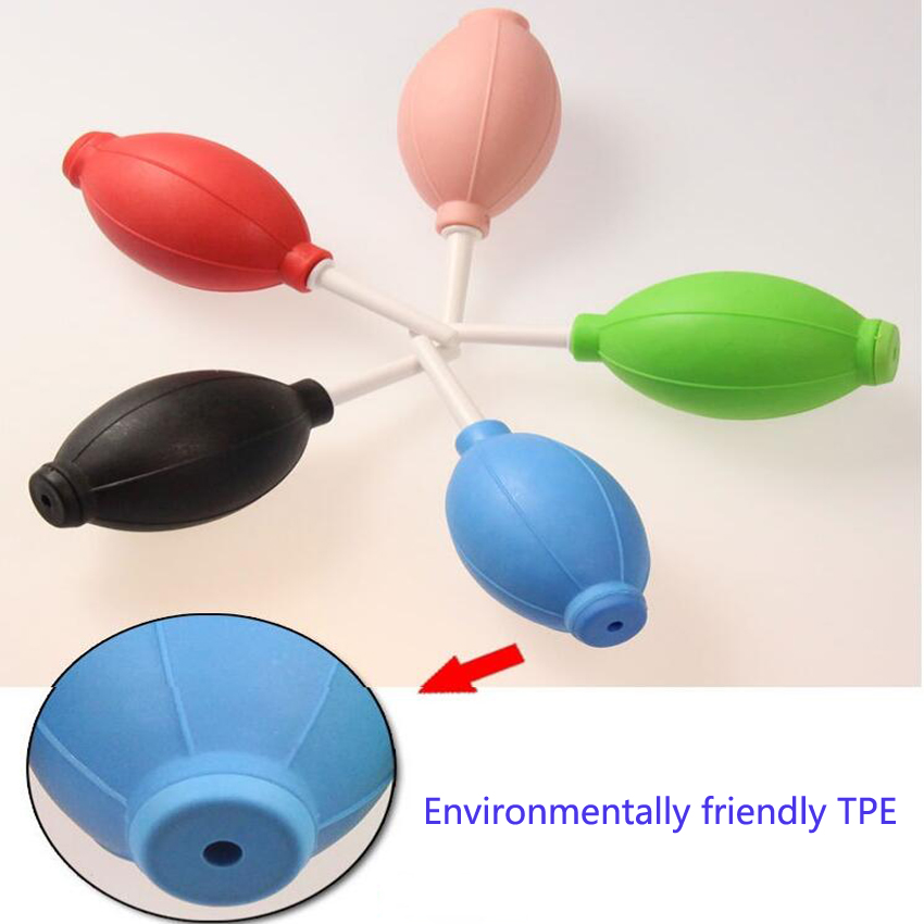 10PC/set Strong Air Blow Ball Latex Cleaning Tool Dust Blowing Device For Electric Chainsaw Lens Computer Remove-dust Balls