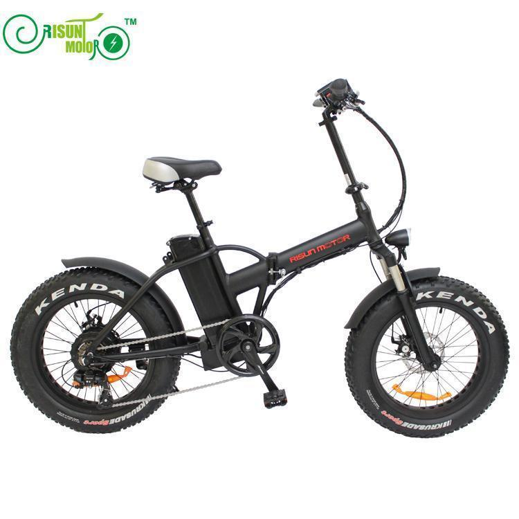 LOVELION 20inch Electric Bicycle Fat Tire Snow Bike 500w High Speed Motor Ebike 48v Li ion Battery 4 0 Fold Mountain Bike in Electric Bicycle from Sports Entertainment