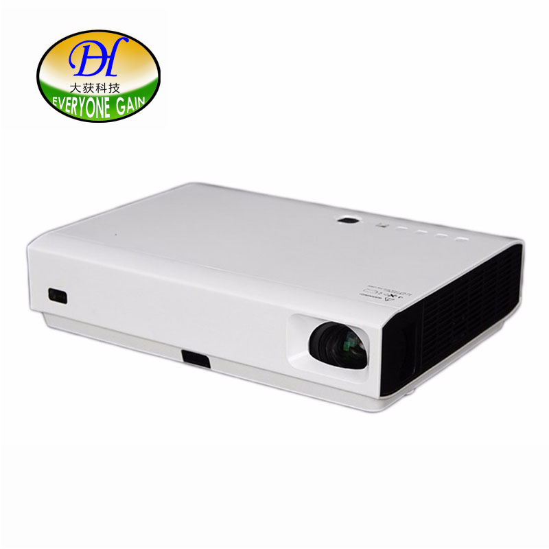 Everyone Gain DLP 3D Projector Android 4 4 Wifi Bluetooth Proyector For Business Office Home Beamer