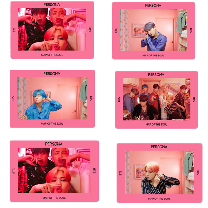 Twice Transparent Card What Is Love Kpop Bts Bangtan Boys Love Yourself Tear Album Paper Poster Photo Lomo Card Hf212 Novelty & Special Use
