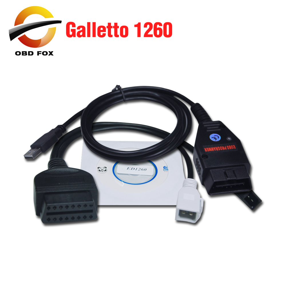 Prix pour Galletto 1260 écus Chip Tuning outil EOBD / OBD2 / OBDII Flasher Galletto 1260 ECU Flasher