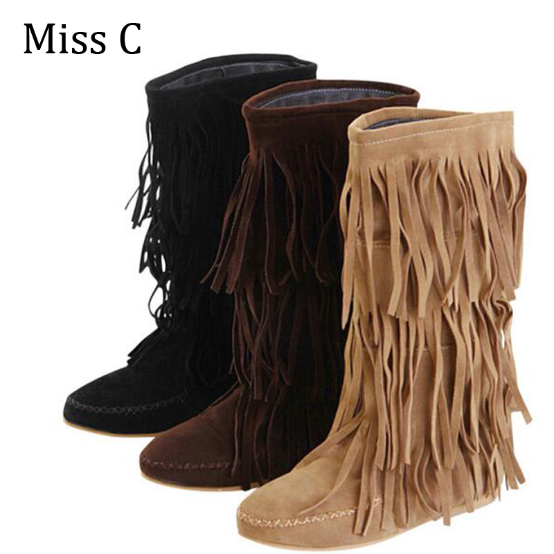 Popular 3 Fringe Boots-Buy Cheap 3 Fringe Boots lots from China 3 ...