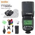 Godox TT685C Speedlite Высокоскоростная синхронизация внешняя TTL вспышка  X1C TTL вспышка и триггер для Canon 1100D 1000D 7D 6D 60D 50D 600D 500D