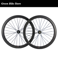 700C 50mm Carbon disc brake wheels 23mm Width Cyclocross Wheels Carbon Bike Bicycle Disc Wheelset