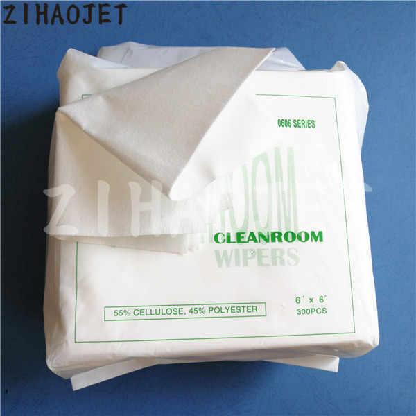 Luar Ruangan Pencetak Format Besar Cleanroom Wiper 55% Selulosa & 45% Poliester untuk Epson TX800 DX4 DX5 DX10 Mimaki Roland Bersih perlengkapan