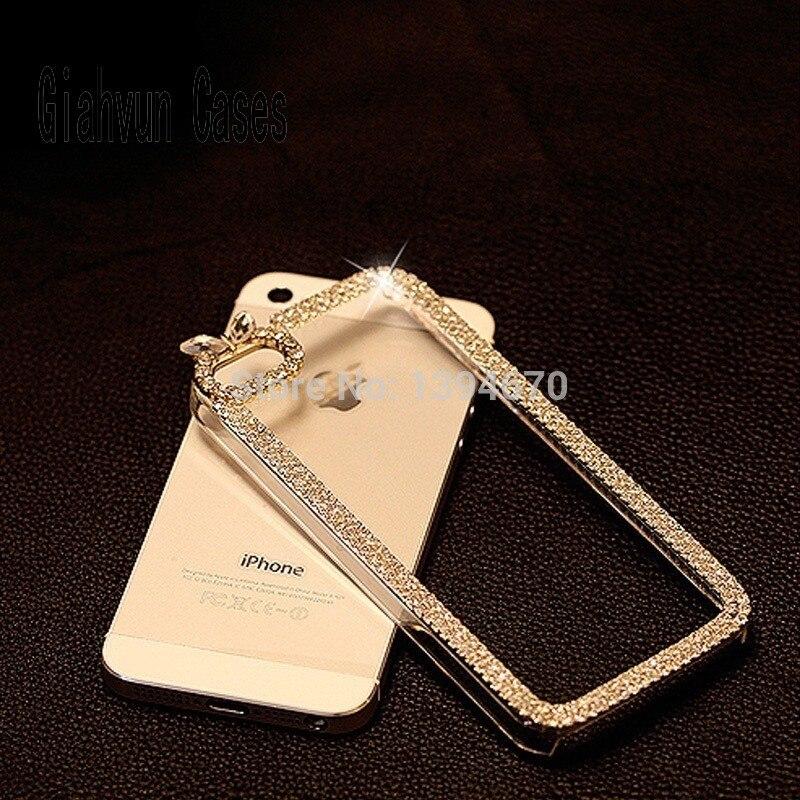 361cad1c609e Cas de la main Pour iPhone X 7 8 Plus 6 S 6 plus 4 5C 5 S 5S SE bling coque  de luxe funda Strass carcasa téléphone cas de couverture en cristal
