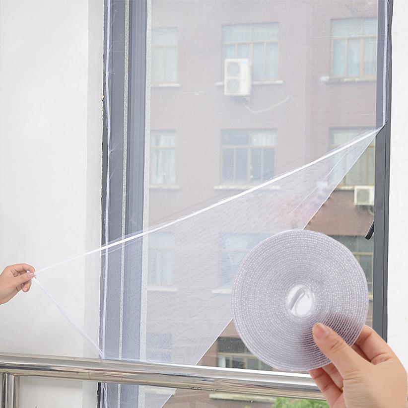Stil; Diy Adhesive Anti-moskito Bug Insekt Vorhang Mesh Hause Liefert Insekten Fly Bug Klebrige Net Harmlos Unsichtbare Fenster-bildschirm Modischer In