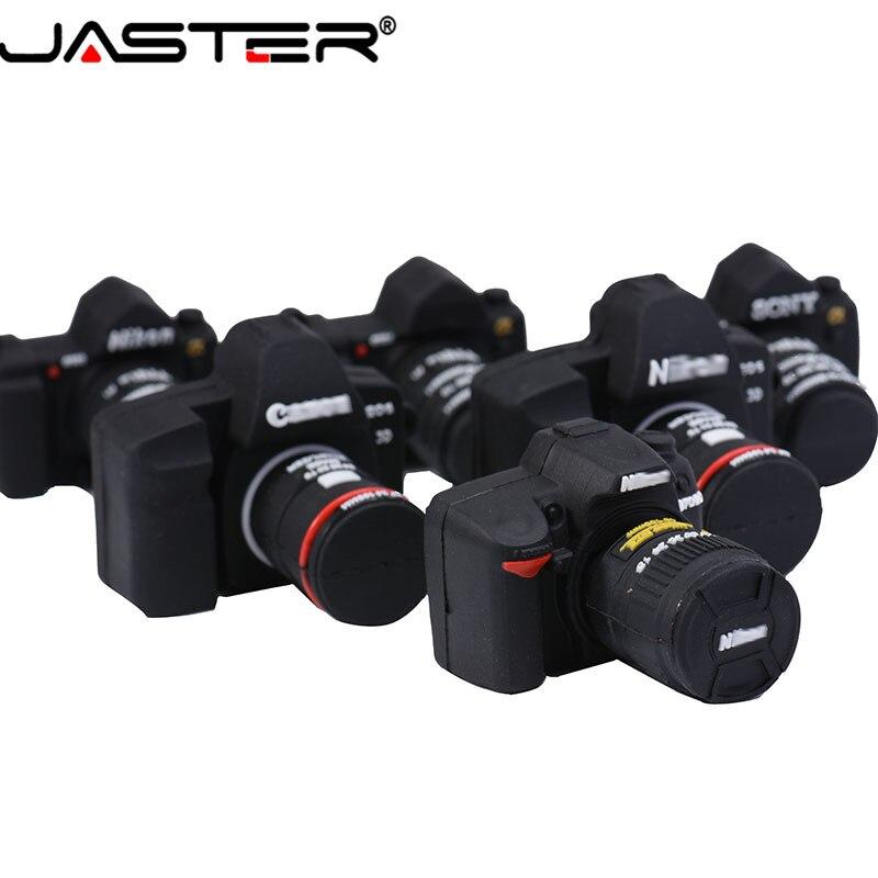 JASTER LOGO Wholesale Digital Single Lens Reflex 2.0 Usb Flash Drive Camera Pen Drive 4gb 16gb 32GB 64GB Silicone Pendrive Gigt