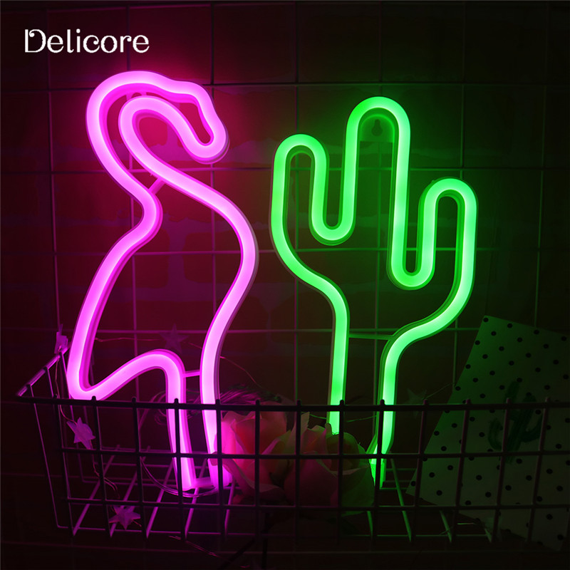 DELICORE Holiday Light Neon Night Light Star Moon Shaped LED Lamp For Baby Bedroom Decoration Wedding Party Decor S198 mipow btl300 creative led light bluetooth aromatherapy flameless candle voice control lamp holiday party decoration gift
