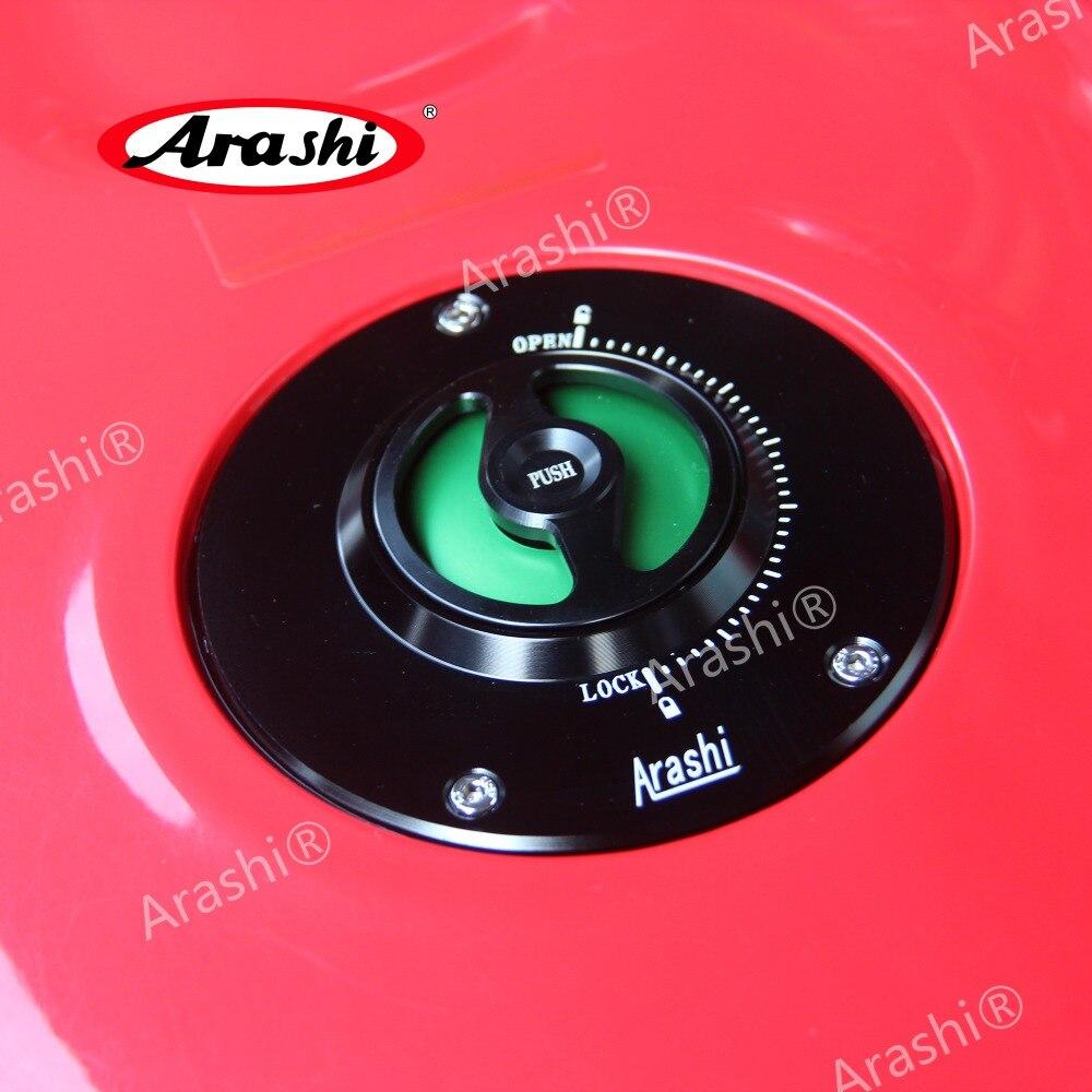 Arashi 108mm Universal For SUZUKI Waterproof Fuel Gas Tank Cap Oil Tank Cover Petrol Case GSXR