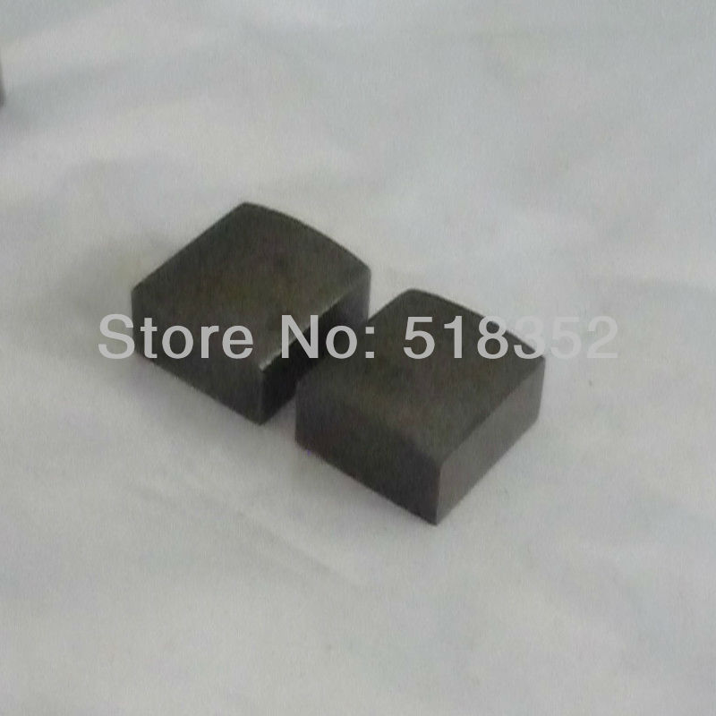 14.5mmx15mmx8.5mm YG8 Tungsten Steel High Density Power Feed Contact for Jinma/ Baoma Wire Cut EDM Parts