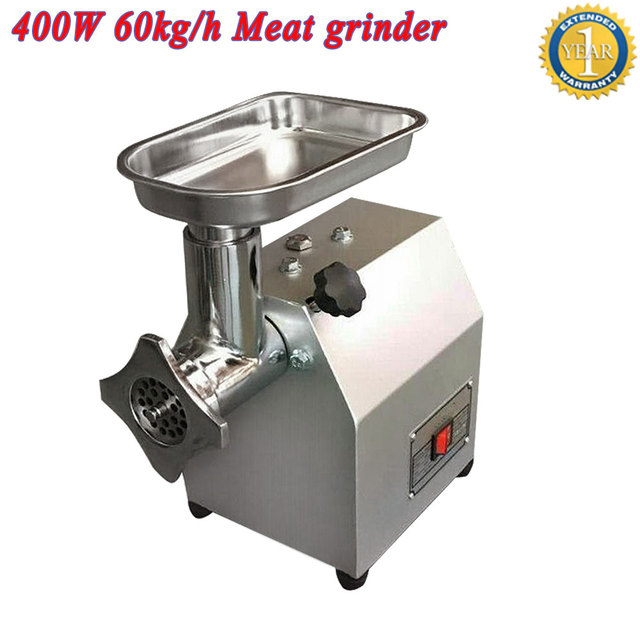 60kg h output capacity commercial mini meat grinder mincer food grinder chopper machine price