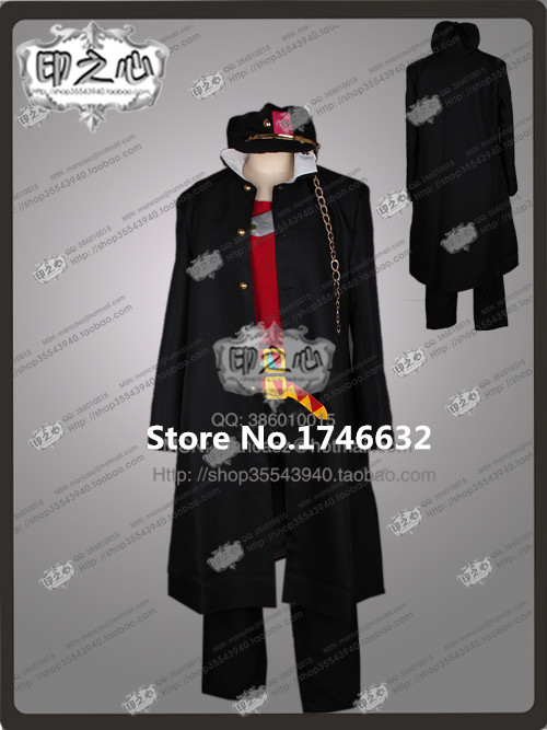 JoJo's Bizarre Adventure JoJo Stardust Crusaders Game Hallowmas Uniform Suit Cosplay Anime Costume Any Size NEW