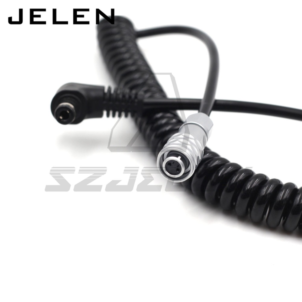 DC 5.5X2.5mm to WEIPU SF6 2Pin Connector for (BMPCC 4)Blackmagic Pocket Cinema Camera 4K Power Cable