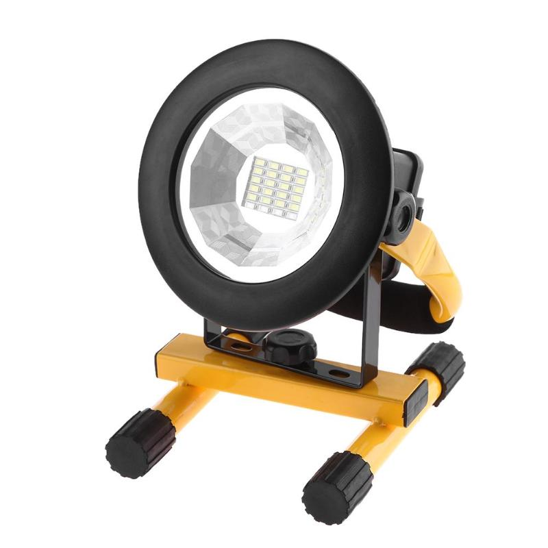 Portable 20 LED Floodlight for Outdoor Camping Hiking 3 Mode Waterproof Floodlight Lantern 3 Modes Emergency Spotlight Lamps
