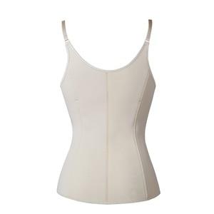 Image 3 - Women Zipper Waist Trainer Vest Corset Adjustable Shoulder Strap Hook Body Shaper Waist Cincher Tummy Control Slimming Shapewear