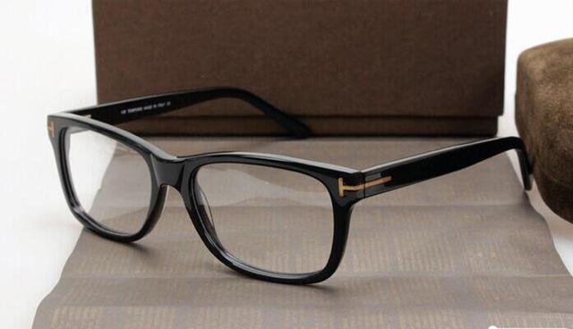 Optical Vintage Quadro Marca TF5176 Homens Mulheres Moda Óculos Armação de óculos de Acetato de Full-aro Frete grátis 2017 de Alta Qualidade