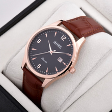 Men's Fashion Leisure Leather Belt Quartz Watch Trend Simple Retro Business Leisure Men's Watches Couple Watches Women's Watches