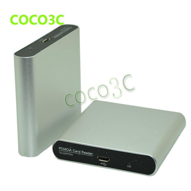 Livraison gratuite USB 2.0 à 68pin PCMCIA slot adaptateur PC Carte lecteur pour SD/CF pour adaptateur De Carte PC pour Mercedes-Benz - 4