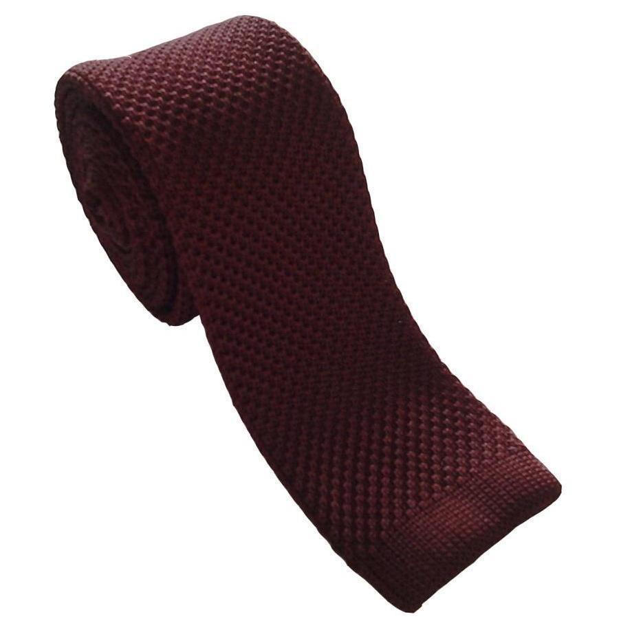 2019 padat rajutan ikatan kurus untuk pria wol Crochet hitam dasi - Aksesori pakaian - Foto 1
