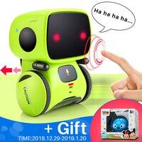 Robot Intelligent Programming Robot Toy Biped Humanoid Robot For Children Kids Birthday Gift Speaing ,walking , touching sense